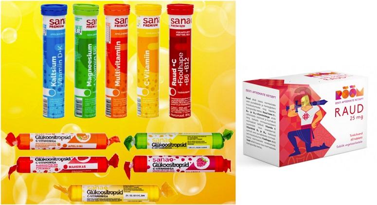 e3bbd517e0f Talvele vastu minnes on alati kasulikuks kingitusteks vitamiinid ja  organismitugevdajad. Pea kõikidest toidupoodidest saab osta Sana +  vitamiine ja ...